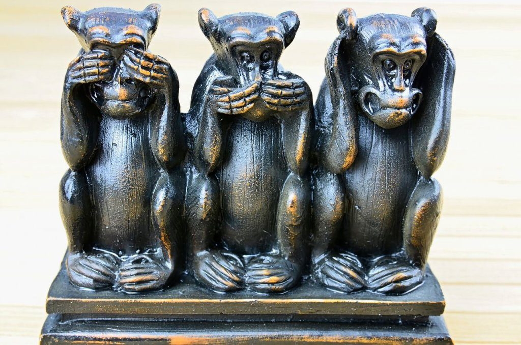 Wise monkeys - abuse allegations are a serious business