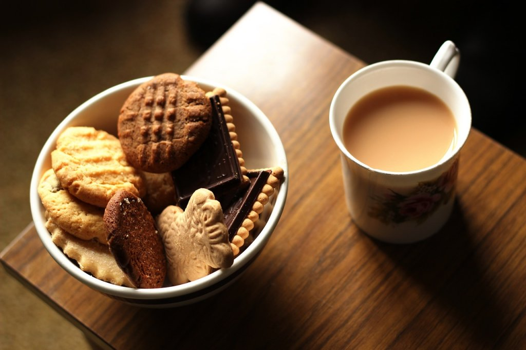 Tea and biscuits?